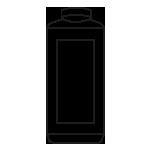 6 x 2500 ml Hartflasche mit Alusiegelverschluss statt Deckel